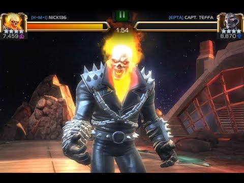 Marvel contest of champions Alliance war vs epta!!!