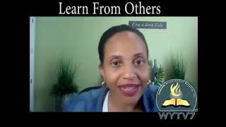 WYTV7 Something Significant Learn From Others Dr  LaReesa Ferdinand