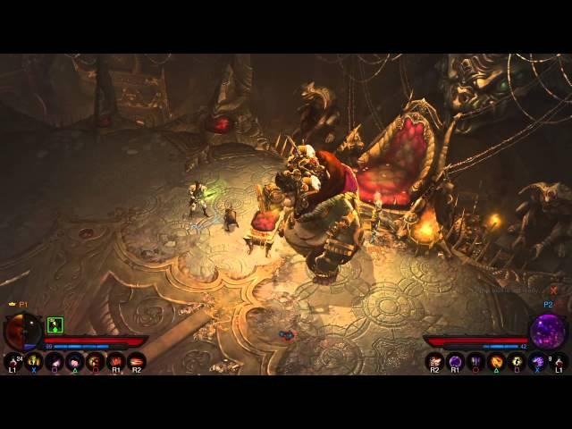 Diablo III Reaper of Souls PS4 Patch 2.1.0 Goblin Portal Treadure Run