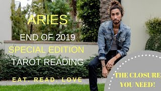"""ARIES - """"FOCUS ON CLOSURE AND ENDING CYCLES"""" END OF 2019 SPECIAL EDITION TAROT READING"""