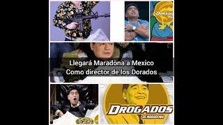 Maradona llegará a México con todo y memes