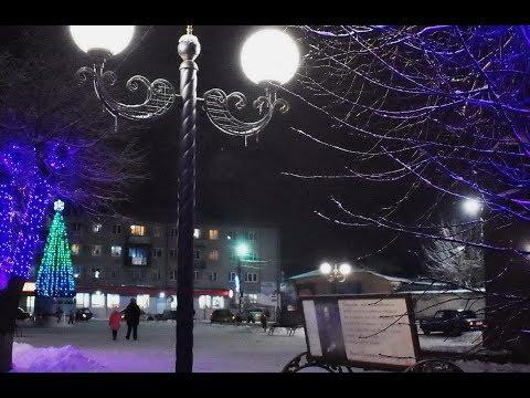 Мой город Киржач зимний.