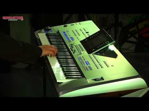 Yamaha TYROS 5 Workshop Michel Voncken @ Music Store