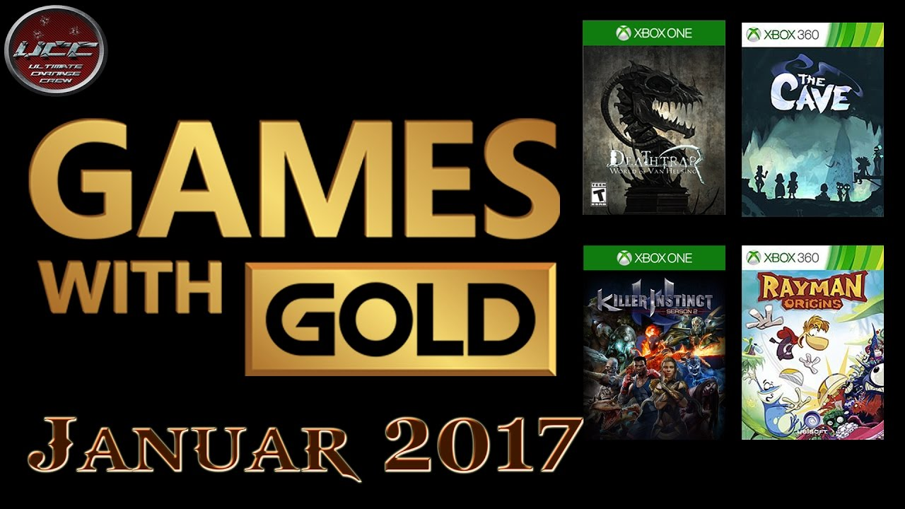 games with gold januar 2017 xbox one 360 gratis 4 spiele. Black Bedroom Furniture Sets. Home Design Ideas