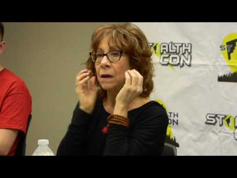Mindy Sterling panel Stealthcon 2017 Warrensburg MO