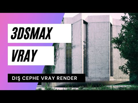 3dsmax Dış mekan Vray Render Dersi Demo Videosu