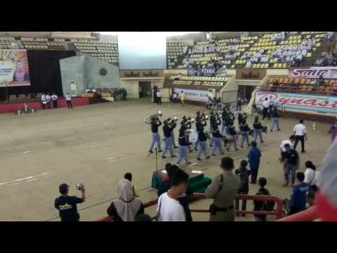 LBB Kejurnas Drumband Junior 2017 - Lampung 2 PDBI Pesawran