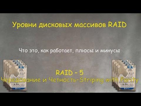 RAID-5 : Что это, как его создать и восстановить на примере Windows