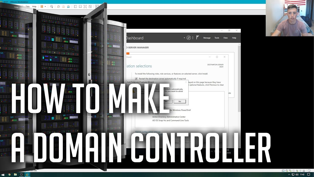 Homelab S2E1: Creating a Domain Controller in Windows Server 2019