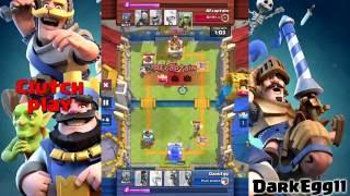 Clash Royale: Epic clutch play