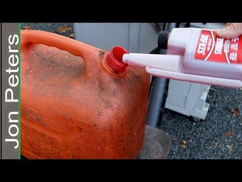 STA-BIL Small Engine Storage Tips - Winterizing Fuel Stabilizer