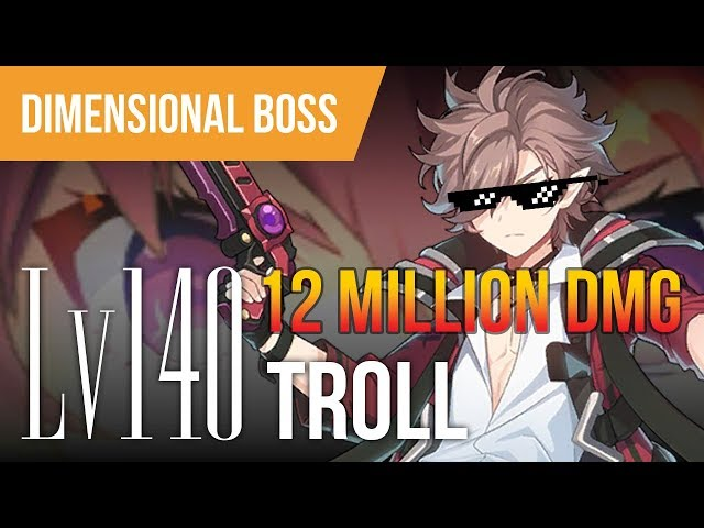 [GCDC] Lv140 Troll - 12 Million Damage - Grand Chase Dimensional Chasers