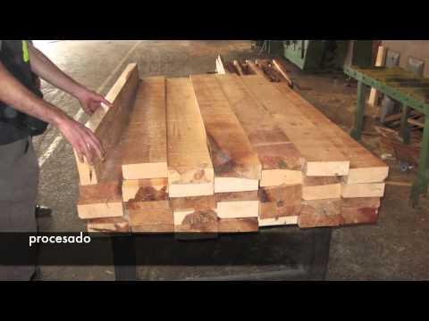 Making of perfil macizo madera tratada exterior pino - Madera de pino tratada ...