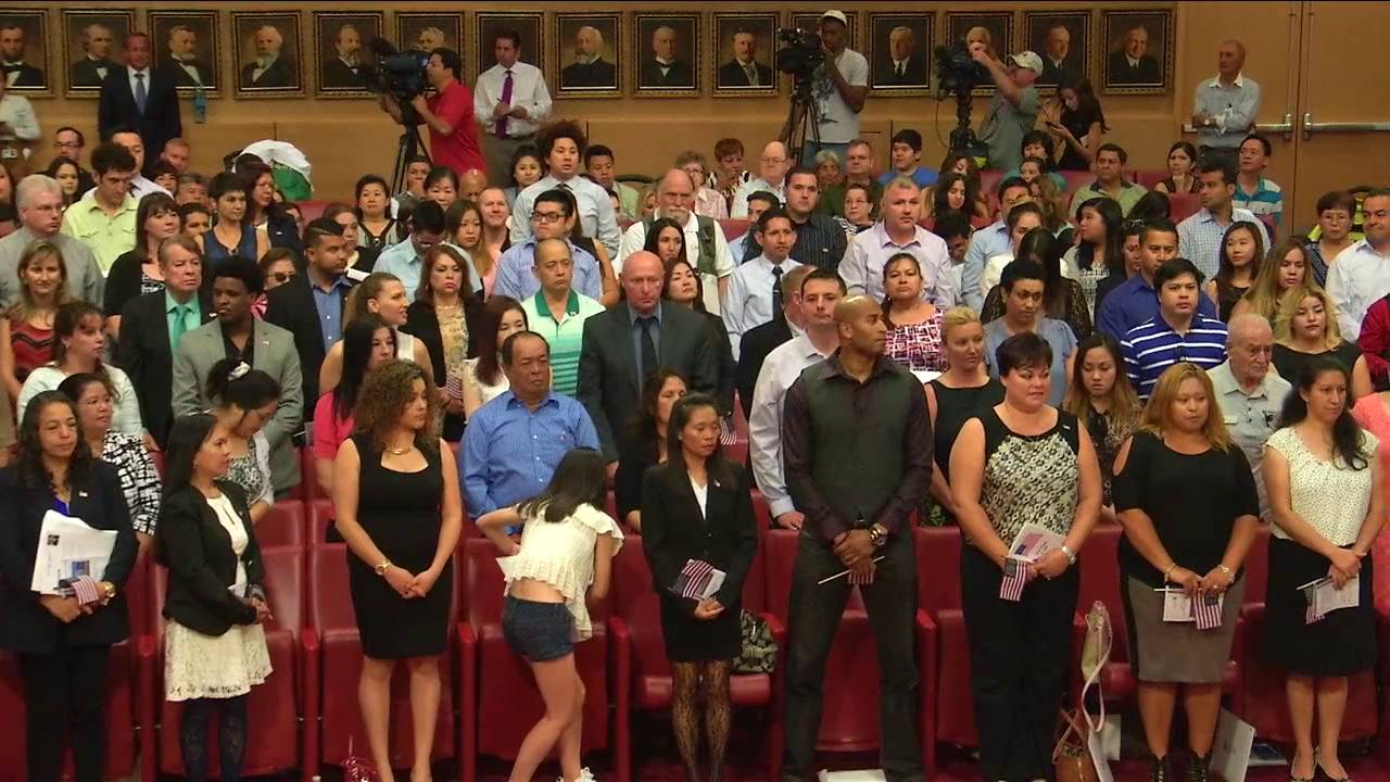 The Naturalization Ceremony 2016