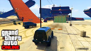 INSURGENT BEACH ROCKETS GTA 5 ONLINE