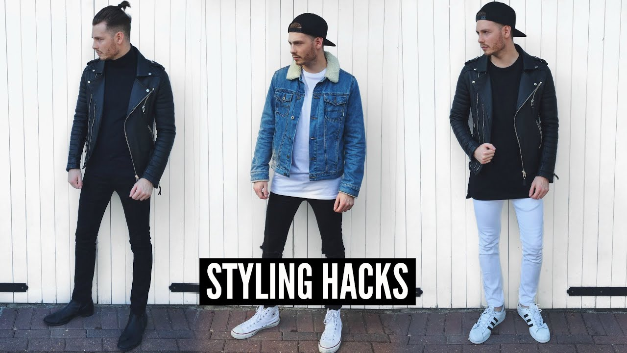 Three Amazing Styling Hacks:  Mens Fashion From Infamous YouTuber Jake Daniels