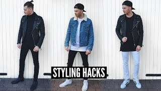 Mens Fashion Hacks & Tips for Fall 2018 - Haul