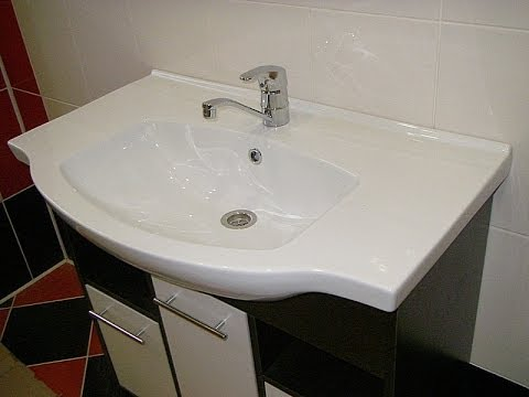 Создаём дизайн ванной комнаты: как правильно выбрать раковину с тумбой