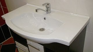 видео Мебель для ванной комнаты «АКВАТОН Венеция»