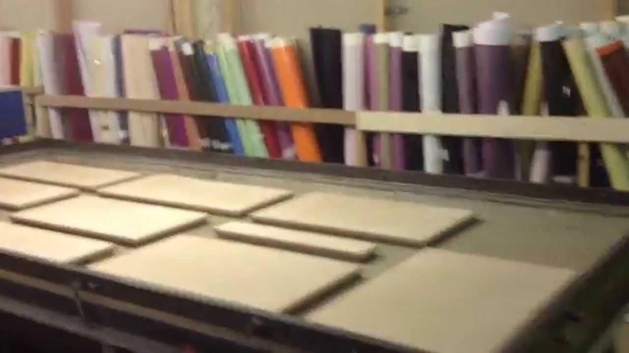Шкаф-купе с пленкой оракал, оранжевый фасад - YouTube