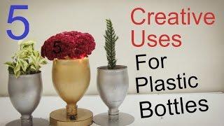 5 Creative Uses For Empty Plastic Bottles