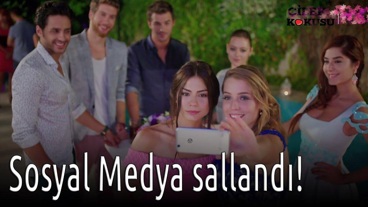 Çilek Kokusu - Sosyal Medya Sallandı!