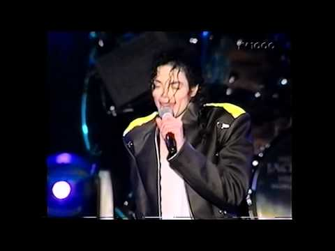 Michael Jackson - Jackson 5 Medley Live in Gothenburg 1997