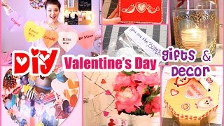 Diy Valentine's Day Gift Ideas & Decor! ❤ Boyfriend, Family, & Friends