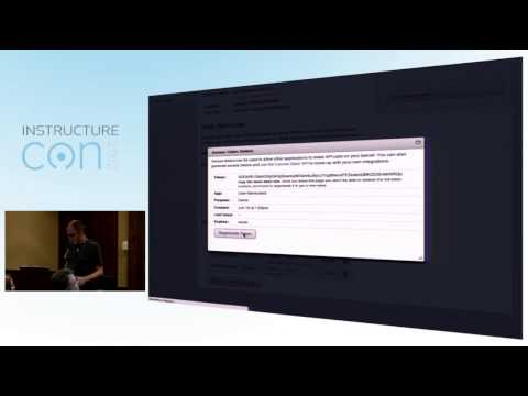 API: Easy as 123. Using the Canvas API for Fun and Profit | InstructureCon 2012