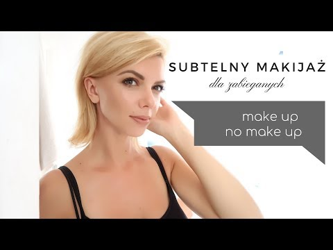 Natural GLOW | Subtelny makijaż na co dzień | make up no make up | BEATA M