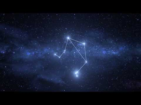 Libra Constellation / Zodiac - Free motion graphics