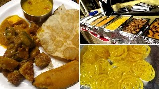 Tamil VLog | Bengali Wedding Reception Food in Tamil | Bengali Food Special