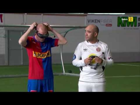FIFA in real life, players seing themselves from above
