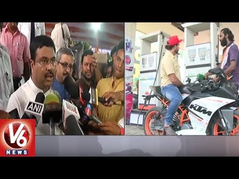 Less Oil Production In OPEC Affects Fuel Price, Says Minister Dharmendra Pradhan | V6 News