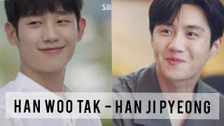 HAN WOO TAK - HAN JI PYEONG | Duo Han yang bikin penonton potek terserang Second Lead Syndrom 😭