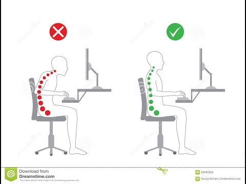 How to Fix Sitting Posture | Reduce Lower Back Pain