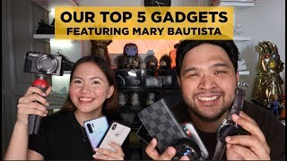 OUR TOP 5 FAVORITE EVERYDAY GADGETS MID-2019 (Ft. MARY BAUTISTA)