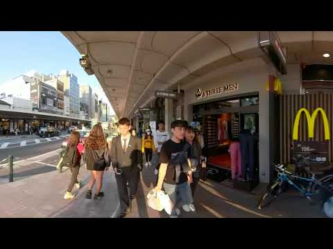The Lost Tourist Street Photography Technique: GOPRO FUSION 360 Immersive Experience