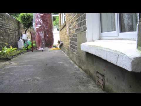 Penetrating damp ground level