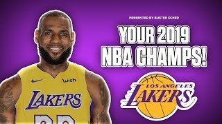 How the LAKERS have ALREADY WON the 2019 title