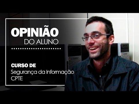 Curso de Segurança da Informação CPTE - Depoimento #001 - Vitor Grohs