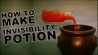 How To Make An Invisibility Potion
