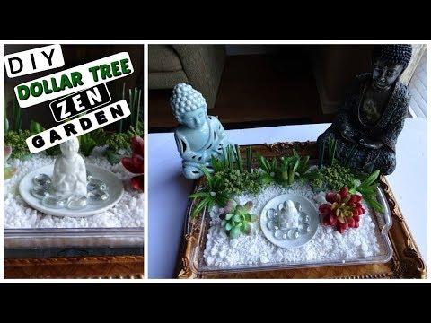 DIY DOLLAR TREE ZEN GARDEN / SUPER RELAXING!!! MUST SEE!!! / MoBellaLife TV