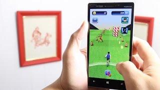 Soccer Runner gameplay on Windows Phone