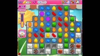 Candy crush saga level 1444 no booster 3 stars