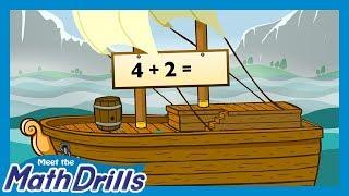 Meet the Math Drills Addition - Mixed Drills