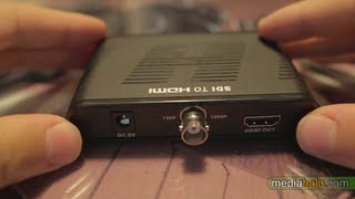 $50 SDI-HDMI converter test & review - Filmmaking tutorial