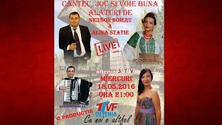 Repeat youtube video Nicusor Boieru - Plec si nu stiu ce m-asteapta LIVE 18.05.2016