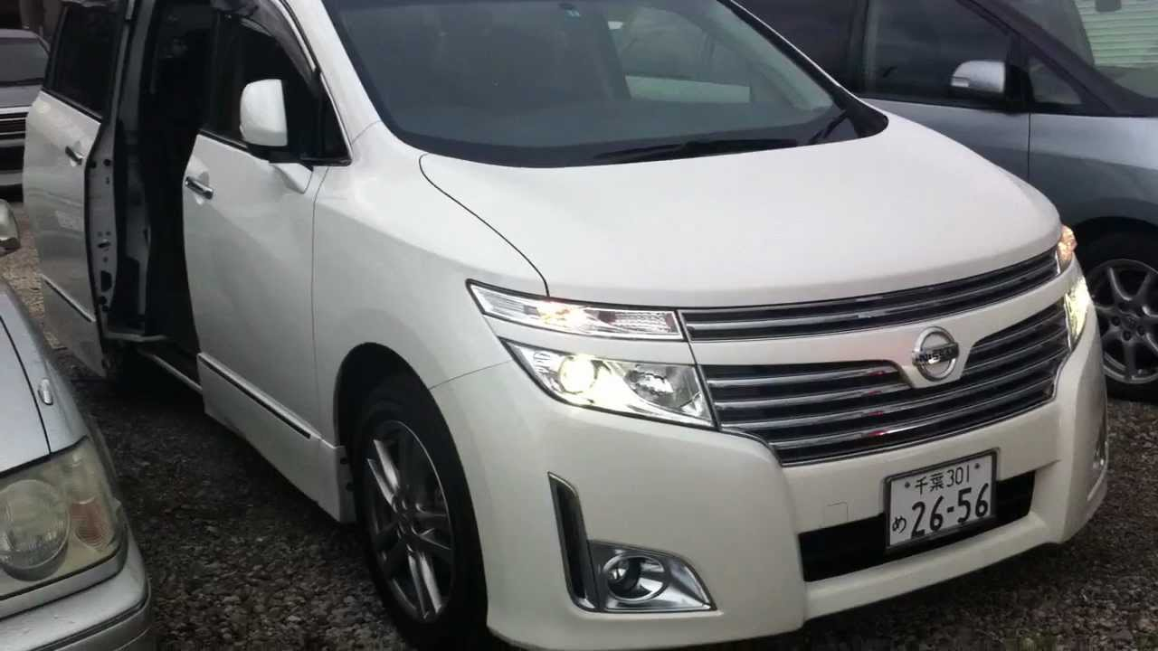 2012 Nissan Elgrand Highway Star 3.5ltr 4WD