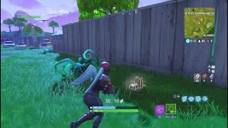 VICTORY WITH THE RED SKIN LINE! FORTNITE: Battle Royale